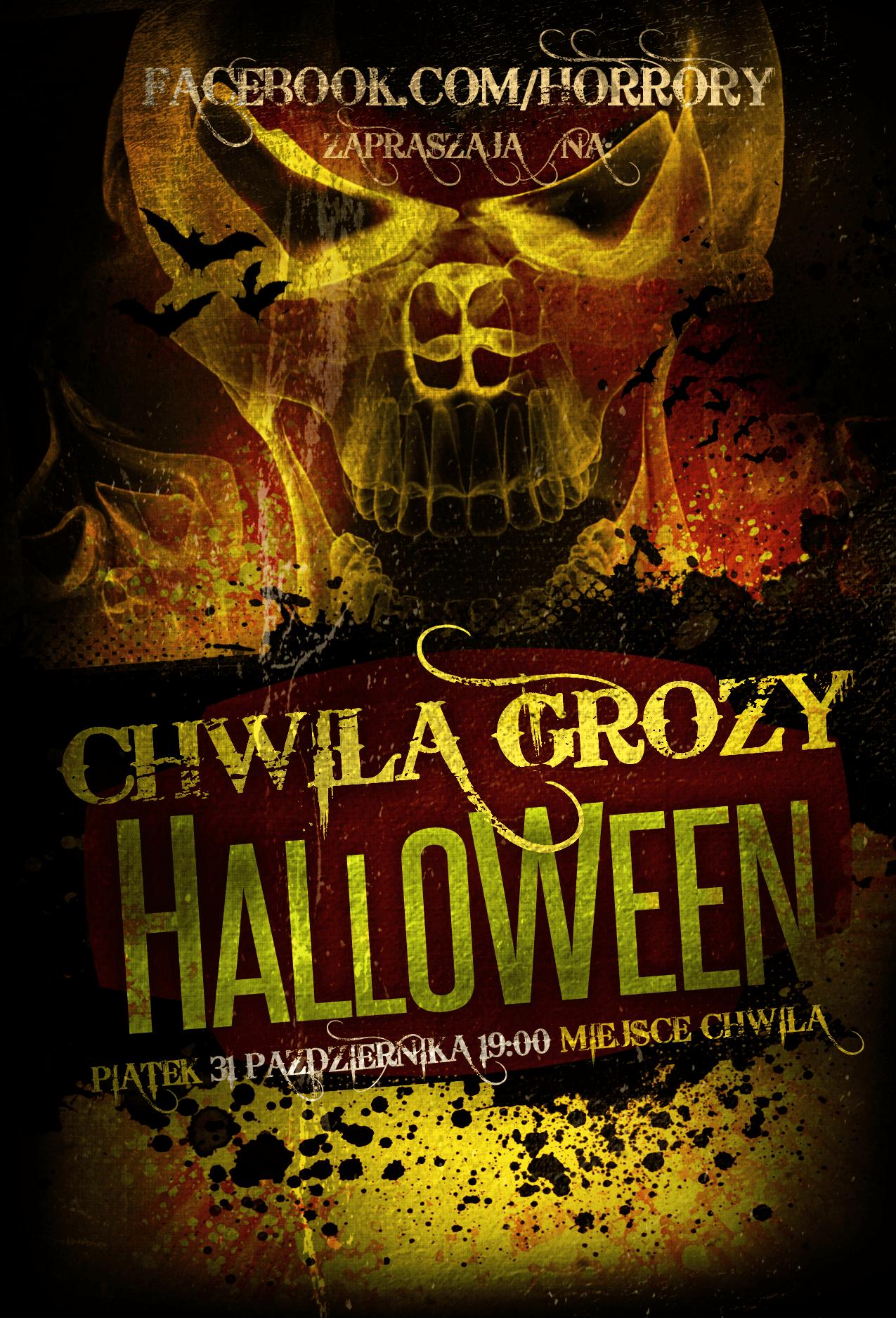 3.haunted-halloween-flyer-template
